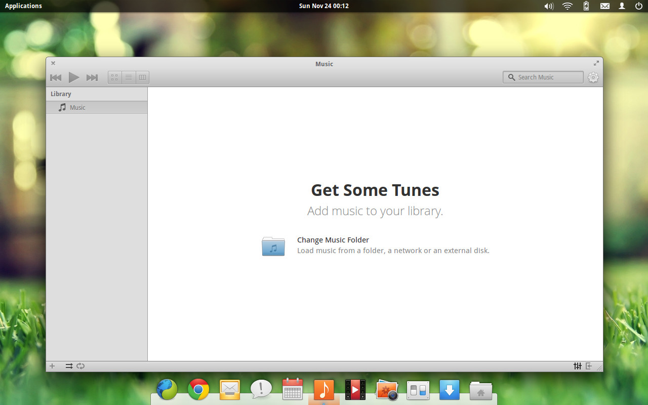 elementary os music player