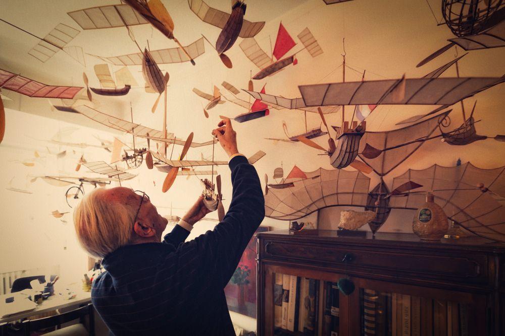 model kapal terbang luigi prina 3