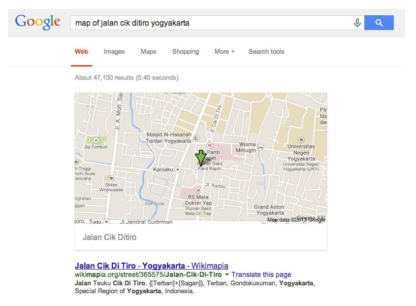 tips dan trik google search 7
