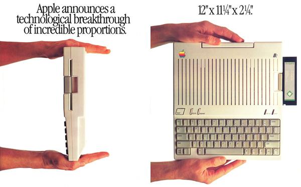 iklan komputer jadul klasik apple