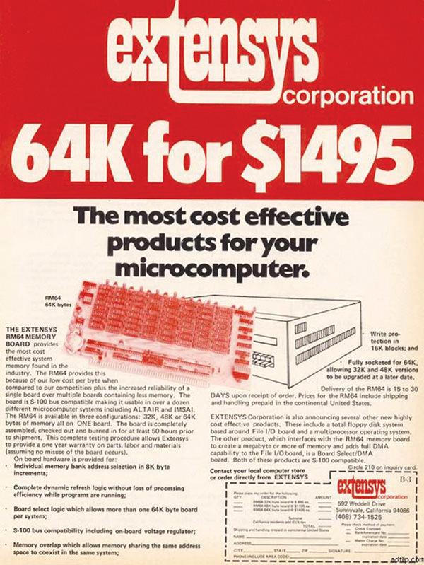 iklan komputer jadul klasik extensys