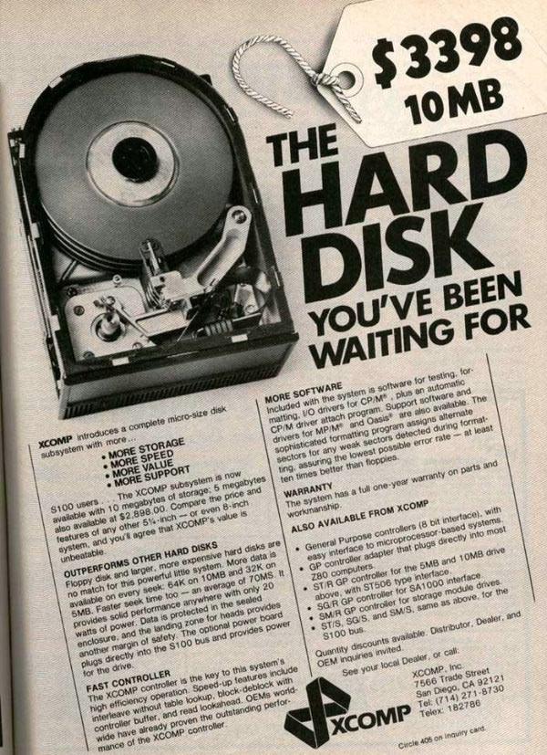 iklan komputer jadul klasik xcomp