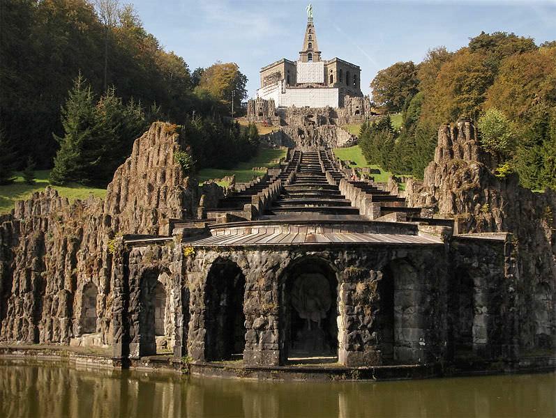 situs warisan dunia unesco Bergpark Wilhelmshöhe