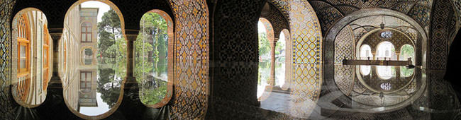 situs warisan dunia unesco golestan palace 1