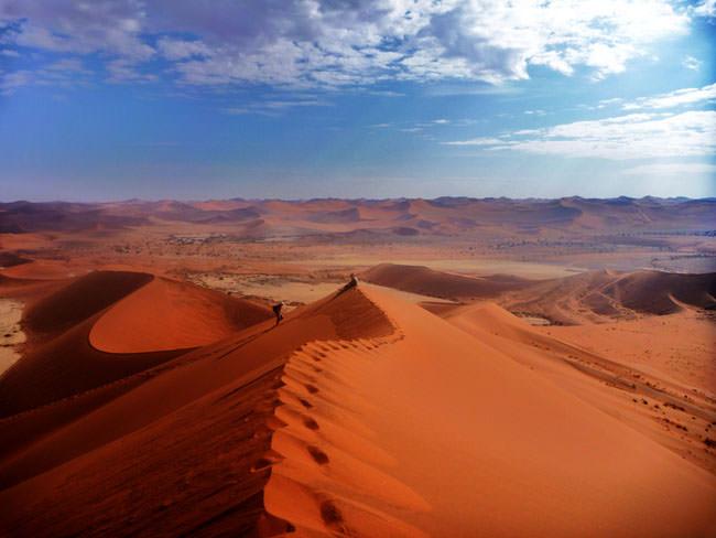 situs warisan dunia unesco sand sea gurun namibia 2