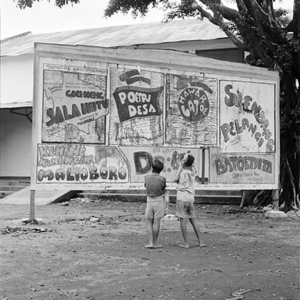 mural poster perjuangan ri