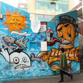 hongdae mural street art 6