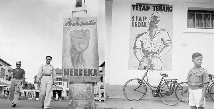 Mural, Grafiti dan Poster Perjuangan Kemerdekaan Indonesia