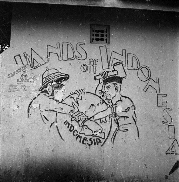 mural perjuangan kemerdekaan 2