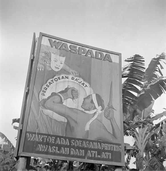 mural poster perjuangan ri 3