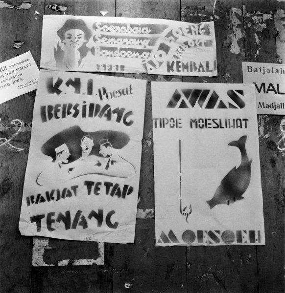 stecil perjuangan indonesia