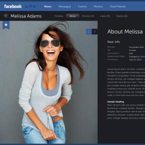 Konsep Desain Facebook yang Menakjubkan Karya Fred Nerby