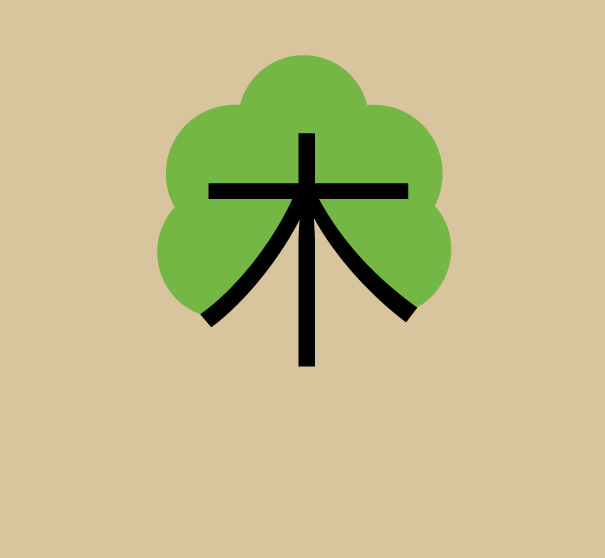 chineasy pohon