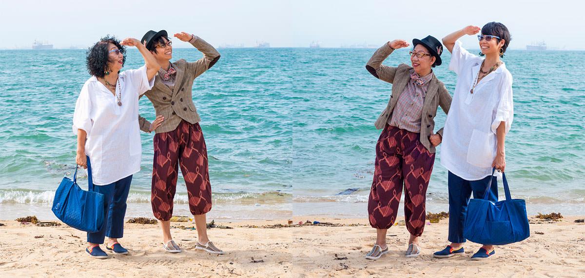 konsep foto bertukar pakaian qozop 4