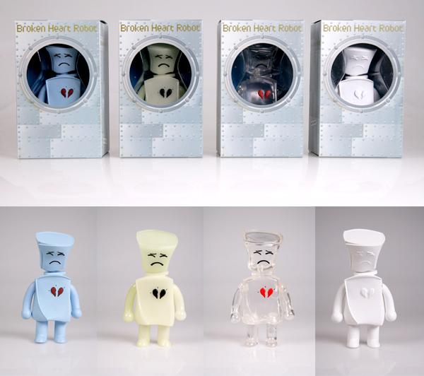 urban toys broken heart robot