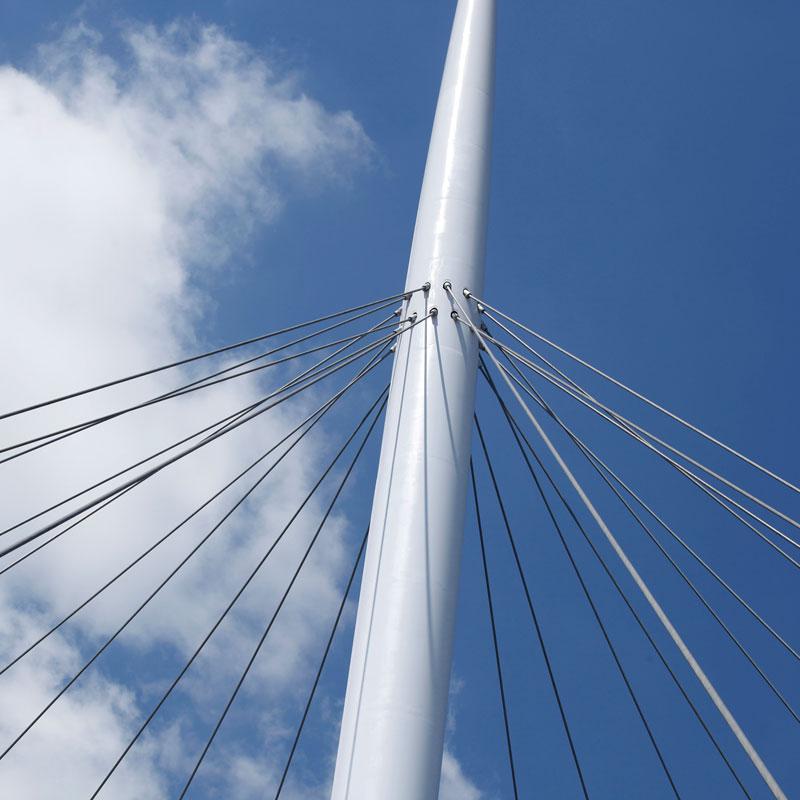 jembatan sepeda hovenring belanda 6