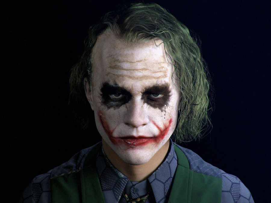 08 Render 3D Realistis - HEATH LEDGER by Max Edwin Wahyudi