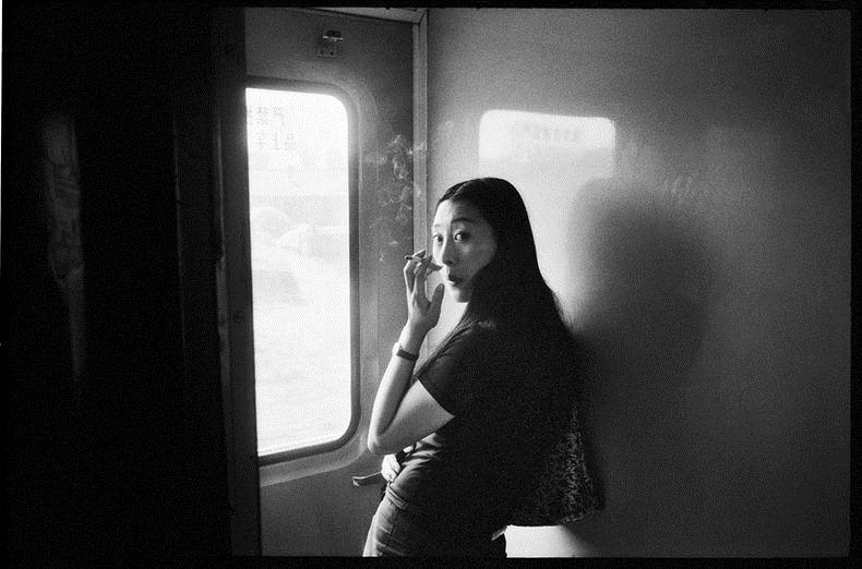 Potret Kemiskinan Warga China Diatas Kereta Api_25