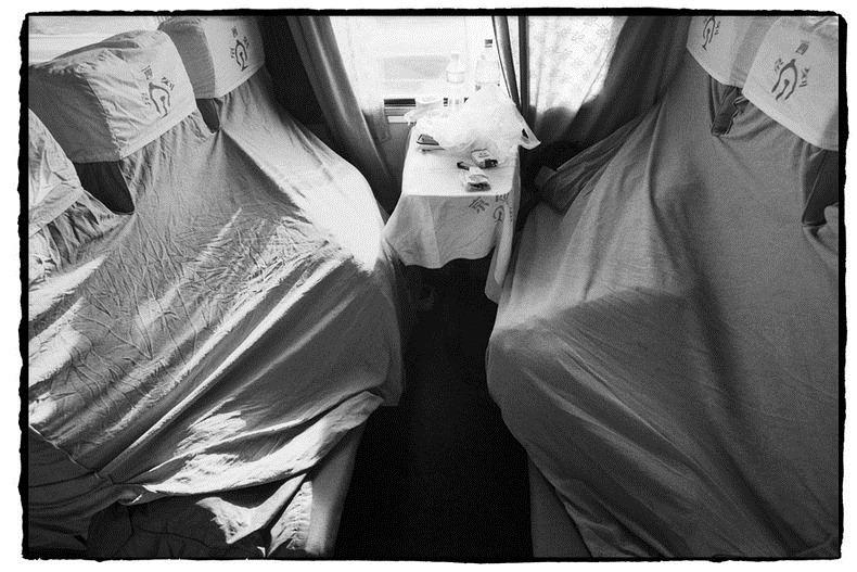 Potret Kemiskinan Warga China Diatas Kereta Api_9