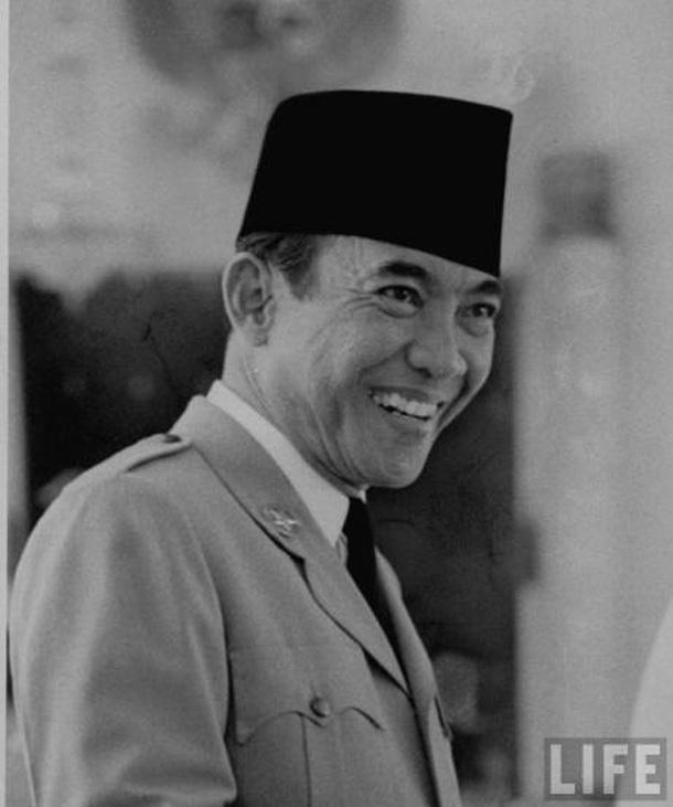 Presiden Soekarno Pemilu 1955