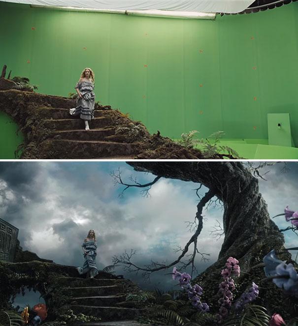 visual efek film sebelum dan sesudah 22