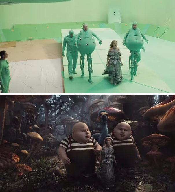 visual efek film sebelum dan sesudah 23