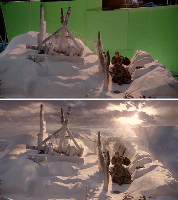visual efek film sebelum dan sesudah 5