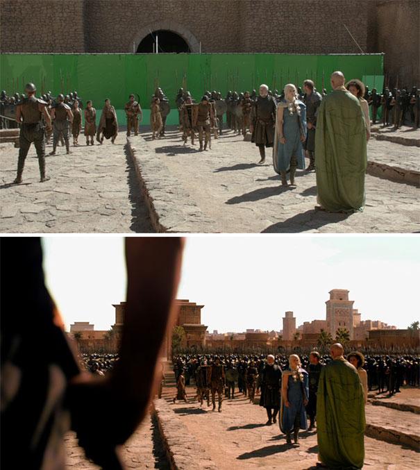 visual efek film sebelum dan sesudah 7