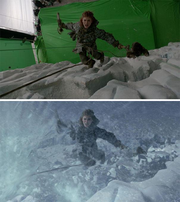 visual efek film sebelum dan sesudah 9