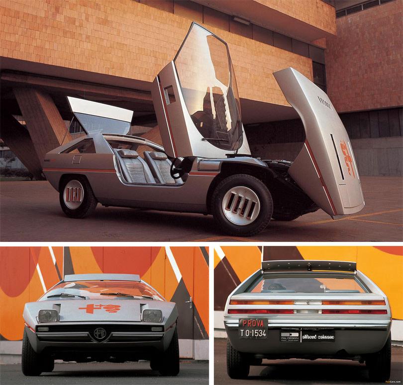alfa romeo caimano retro classic car 02