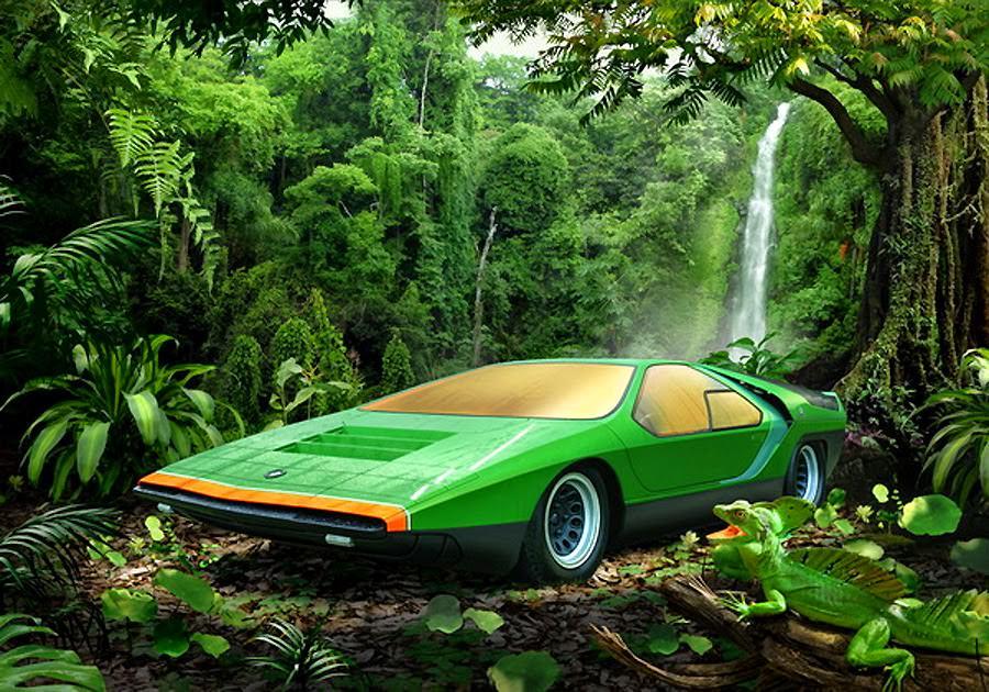 alfa romeo carabo retro classic car 03