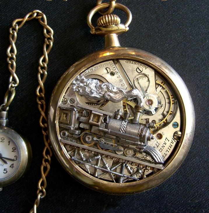 kreasi dari komponen jam bekas 18