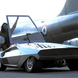 lancia stratos zero bertone retro classic car 01