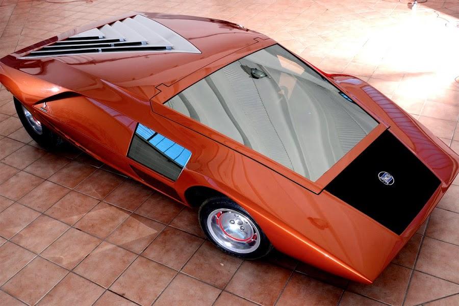 lancia stratos zero bertone retro classic car 03