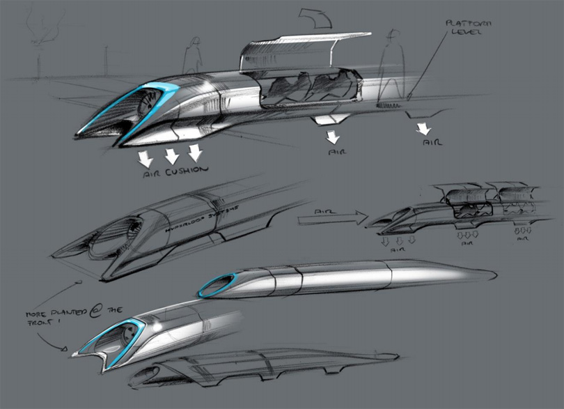 sistem transportasi tercepat hyperloop 01